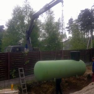 Автономная газификация - монтаж газгольдера